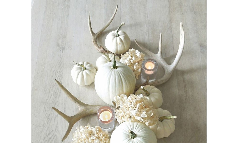 DIY antler decor for your table