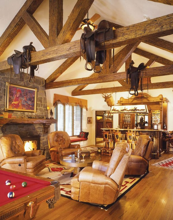 Saddles-in-the-living-room-decorating-with-saddles
