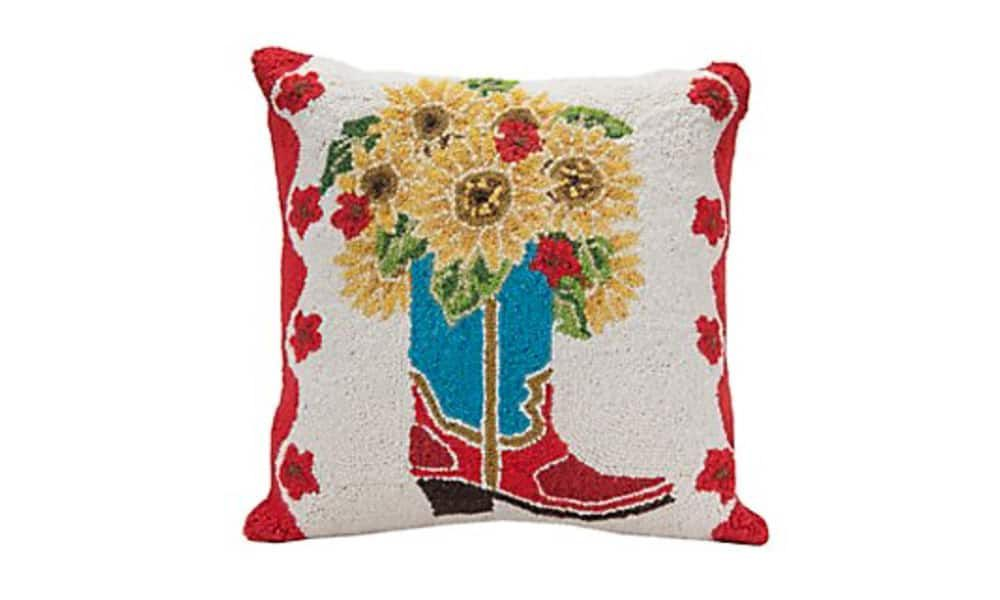 Throw pillows from Cavender's