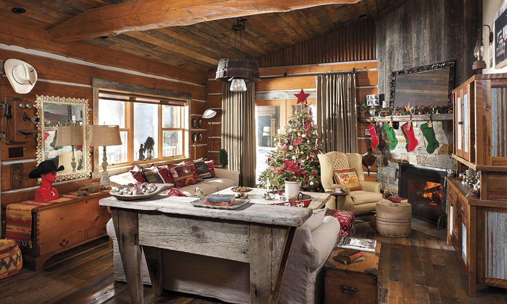 christmas cabin cowgirl magazine