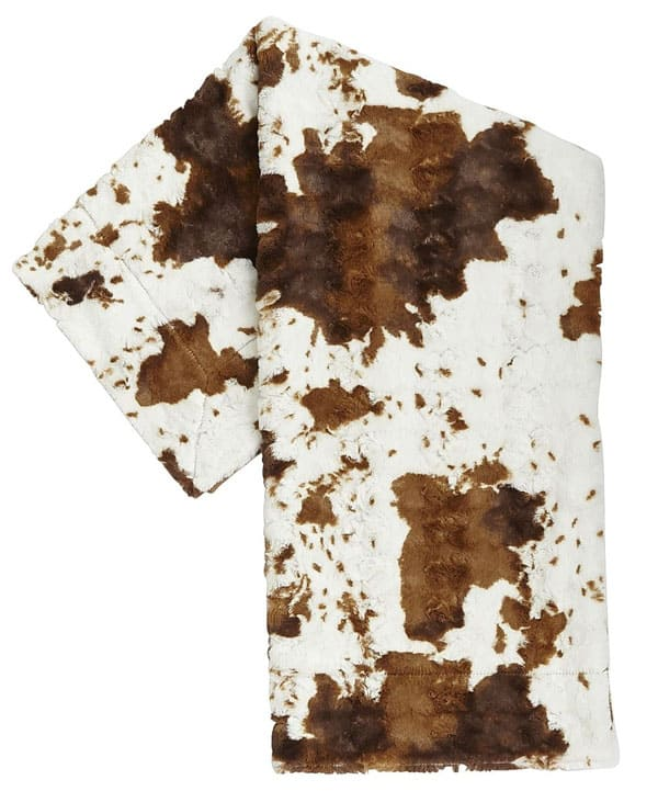 Cowgirl - faux cowhide home accents