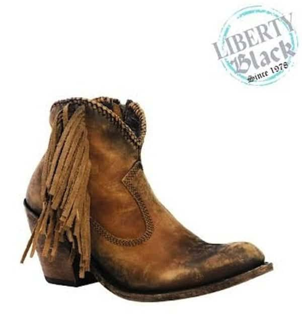 Cowgirl - liberty black boots