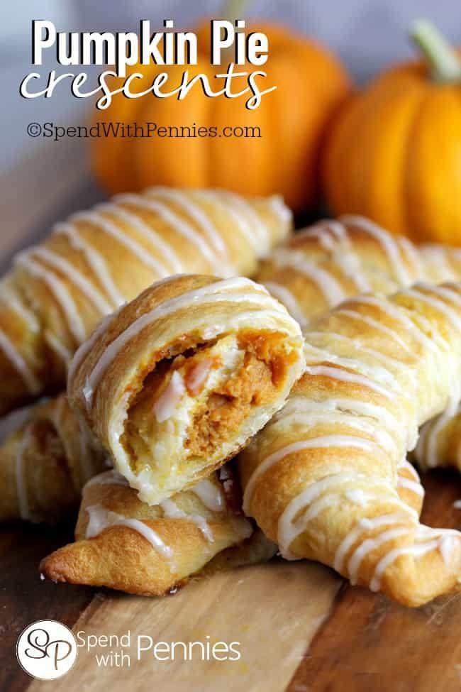 pumpkin-crescents