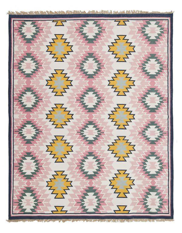 Cowgirl - southwestern rug