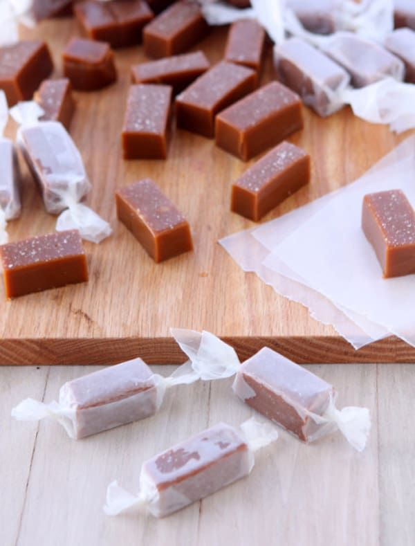 Bourbon-Salted-Caramels