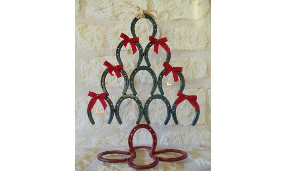 Horseshoe Christmas Trees