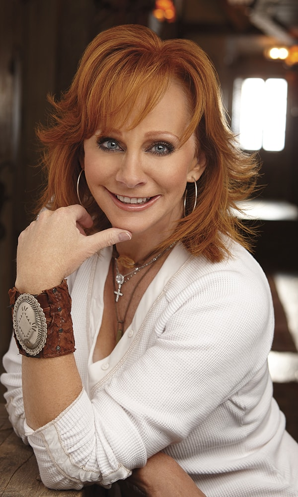 Reba cowgirl magazine for How many kids does reba mcentire have