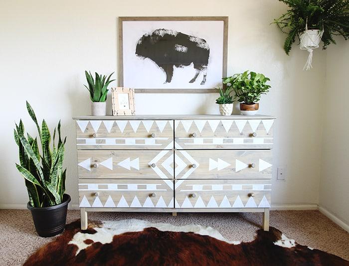 Tribal Dresser DIY