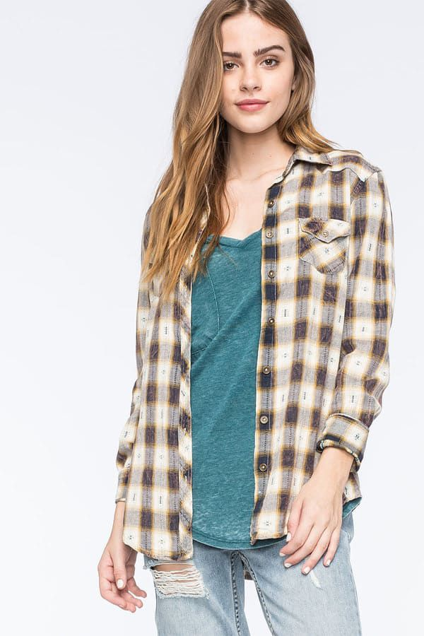 Cowgirl - Flannel Is Our Favorite Layer