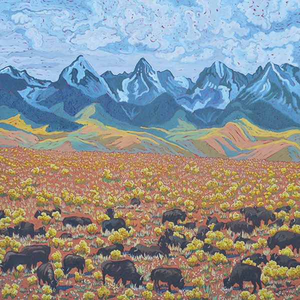 FORTY-FOUR-BISON-AND-FIVE-14'ERS-L-Kathleen-Frank