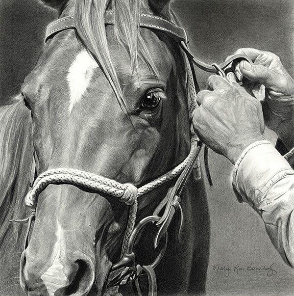 Slight-Adjustment-12x12-charcoal-graphite-MaryRossBuchholz