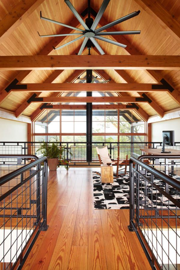 Square-cowhide-rug-and-office