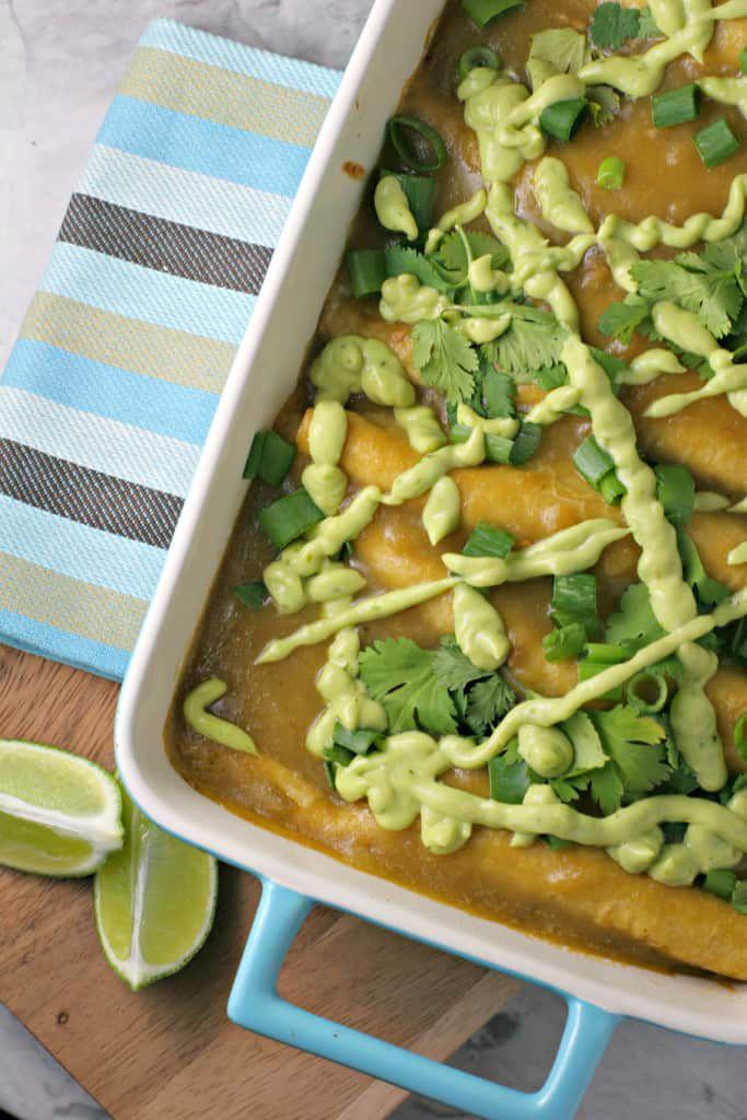 green-enchiladas