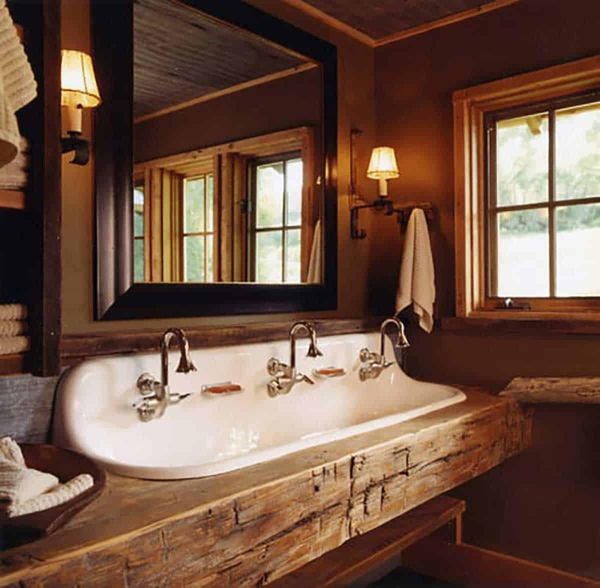 rustic-bathroom-wash-area