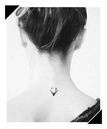 stag-head-tattoo