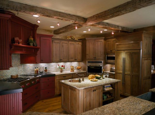 Natural-and-red-cabinets
