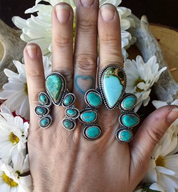 Cowgirl - CBGEMS turquoise ring
