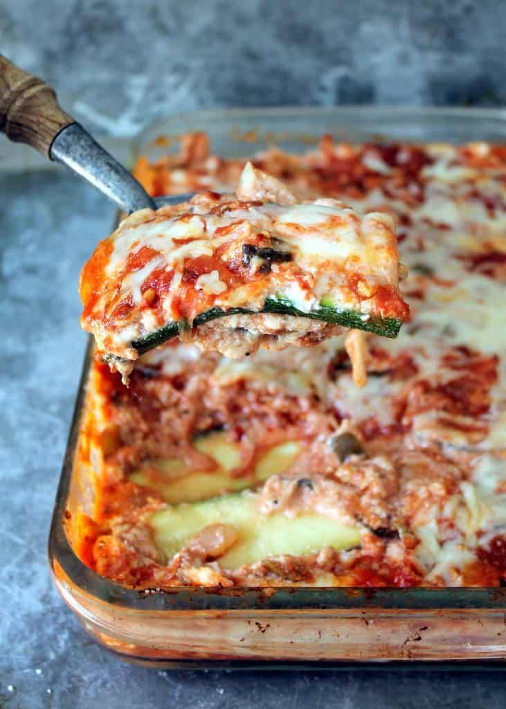 zucchini-lasagna-turkey-meat-sauce