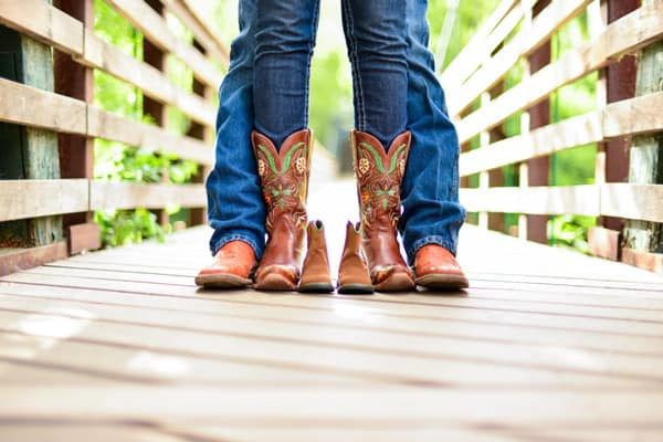 New-baby-announcement-with-cowboy-boots