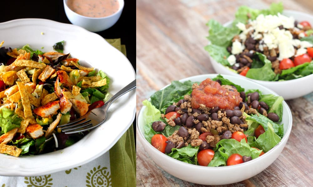 Spring taco salad recipes to try