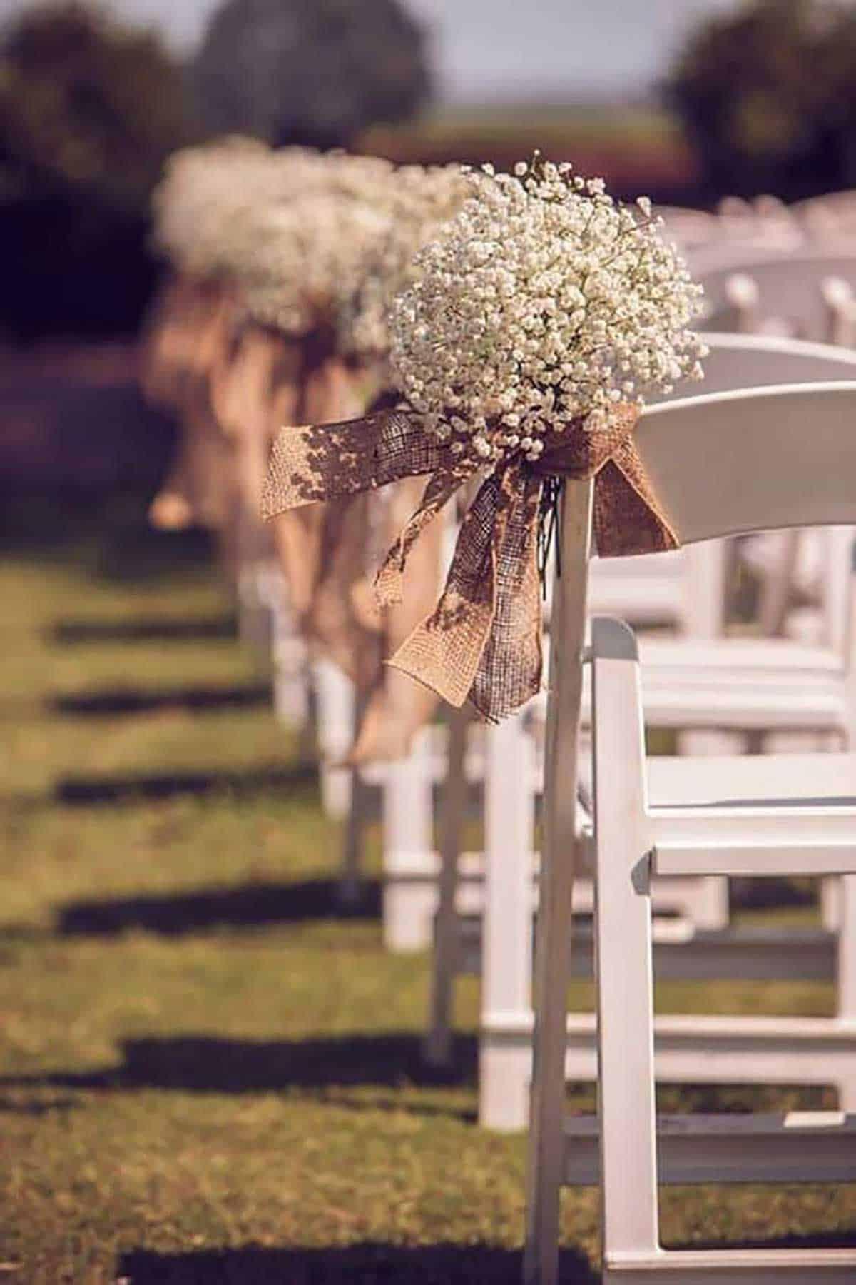 burlap-flower-aisle-decor