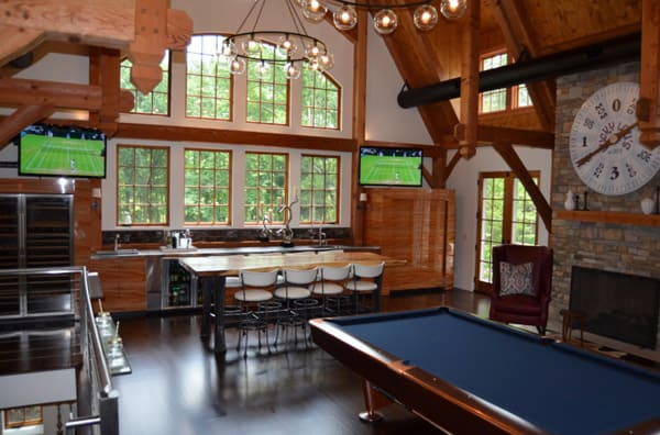 game-room-of-converted-old-barn