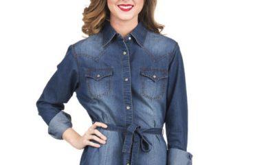 5 little denim dresses you need