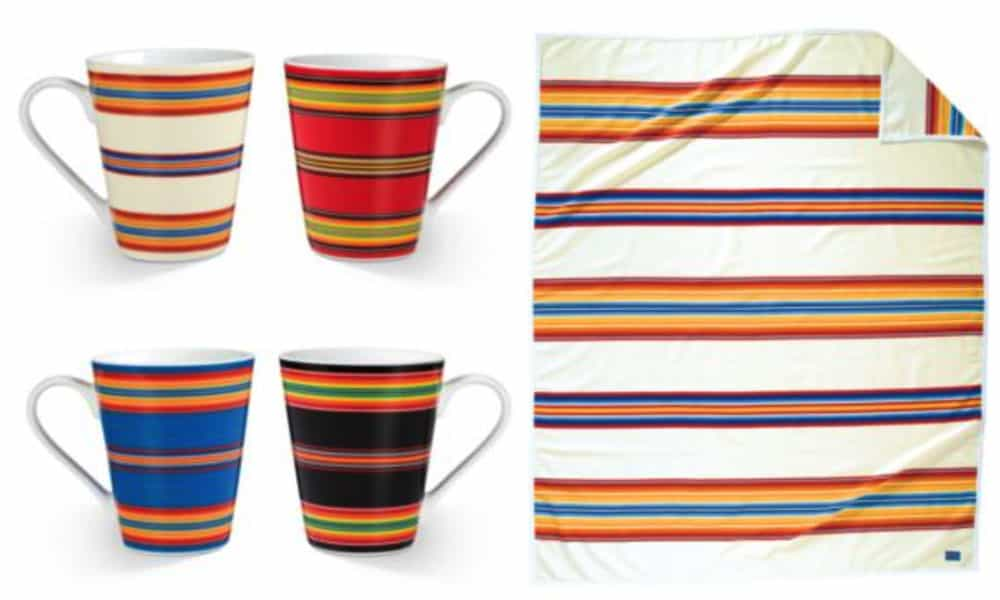 Serape accessories from Pendleton