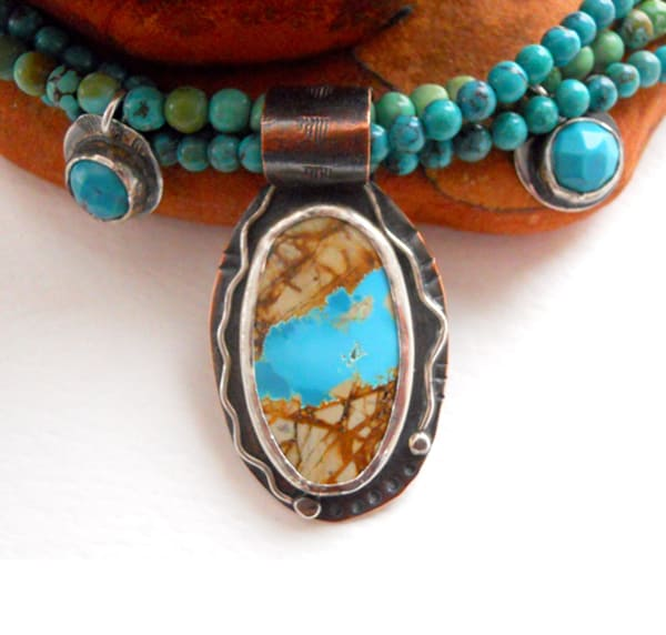 Silversmith spotlight lost pond studios page 3 of 9 for Royston ribbon turquoise jewelry