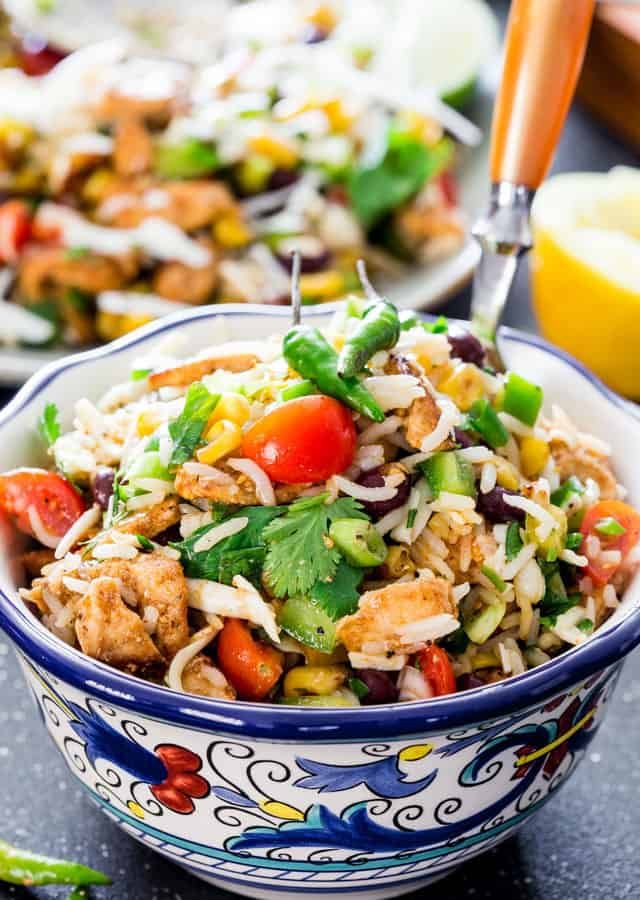 mexican-chicken-rice-salad