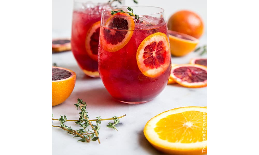 Elderflower cocktails