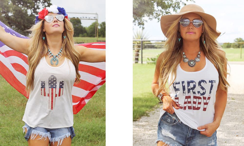 The Americana collection from Ali Dee