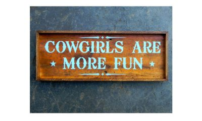 Western signs for your front porch