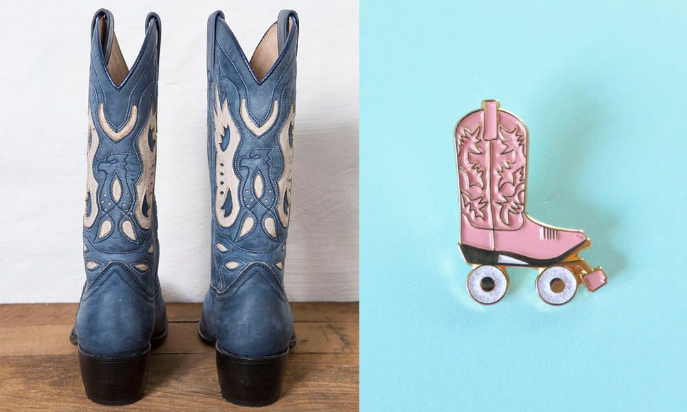 Awesome cowboy boot finds on Etsy