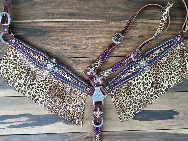 Metallic-purple-and-cheetah-fringe