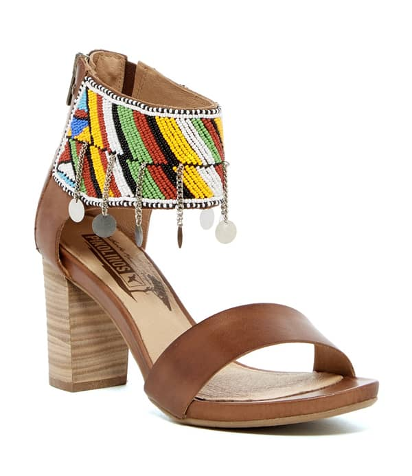 Cowgirl - Beaded Summer Sandals