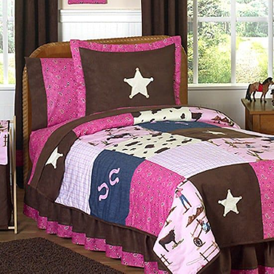 delux cowgirl bedding set