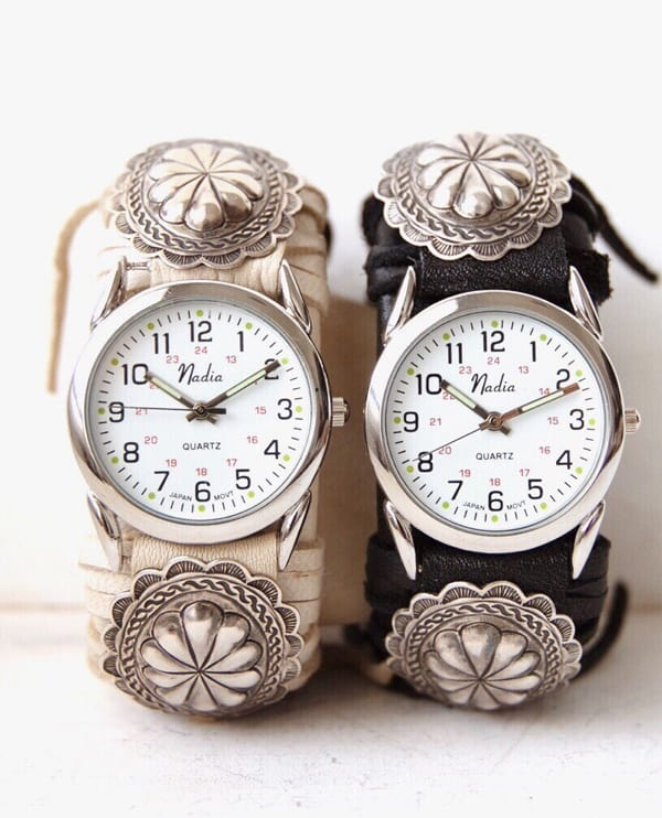 Beaded watches cowgirl magazine