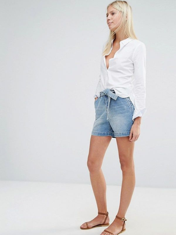 Cowgirl - High Waisted Shorts