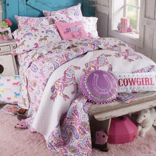 paisley pony bedding