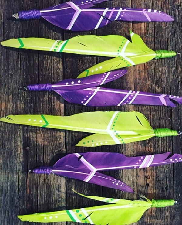 purple-and-lime-feathers