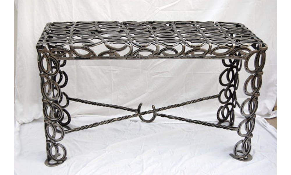 unique horseshoe furniture