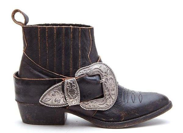 Cowgirl - Buckled Up Booties