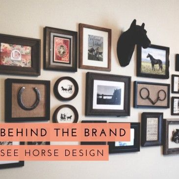 horse-gallery-wall
