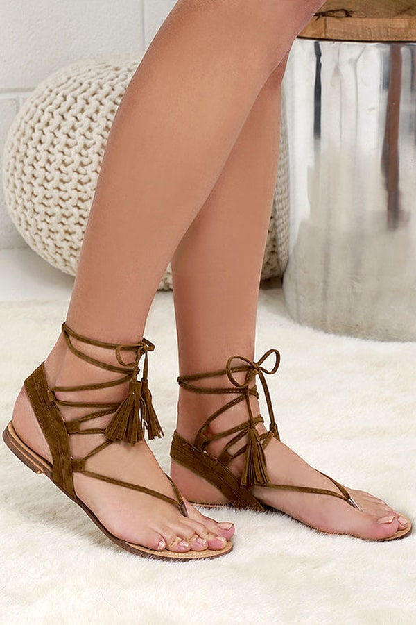 Cowgirl - Lace-Up Sandals