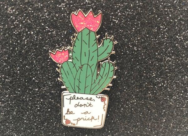 hat band trinket cactus