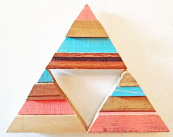 reclaimed wood magnets