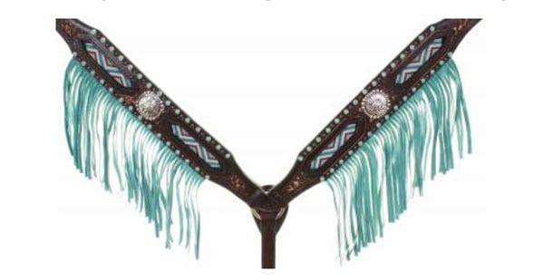 Beaded-fringe-breast-collar