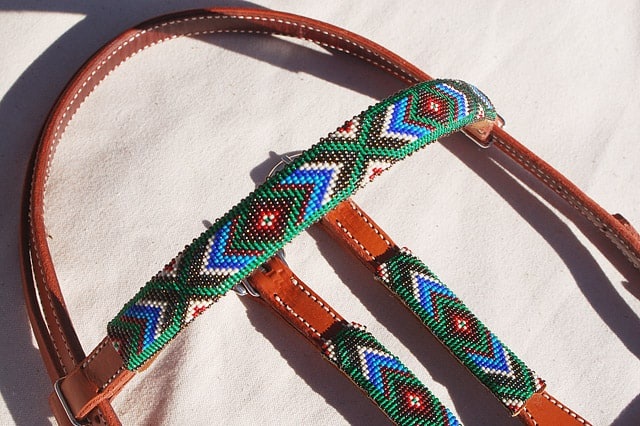 Beaded headstall