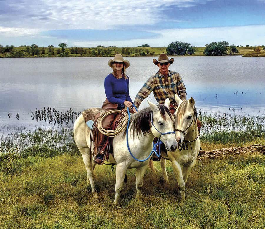 Paige Duke and Ty Murray in Texas